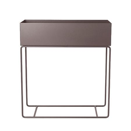 Ferm Living Plant Box Rectangle - Taupe Brown