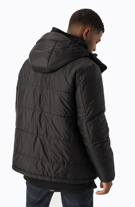 Zanerobe Paddo Puffer Jacket - Black