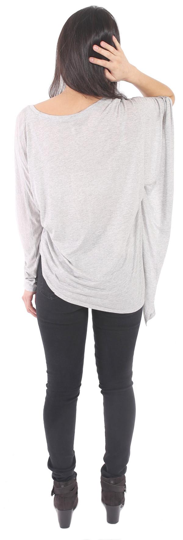 Lanston Asymmetrical Drape Tunic