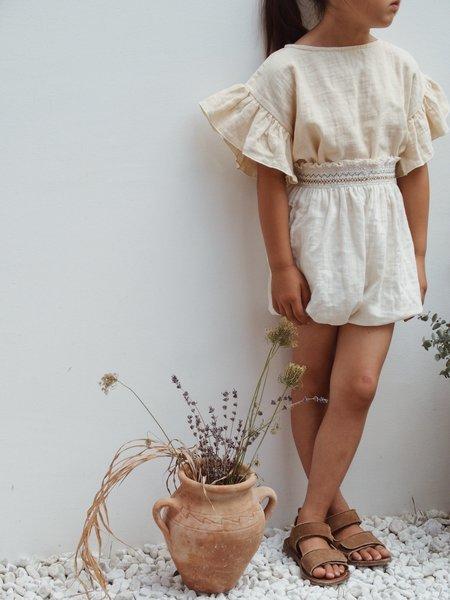 KIDS Liilu Smock Bloomer - Cru Natural