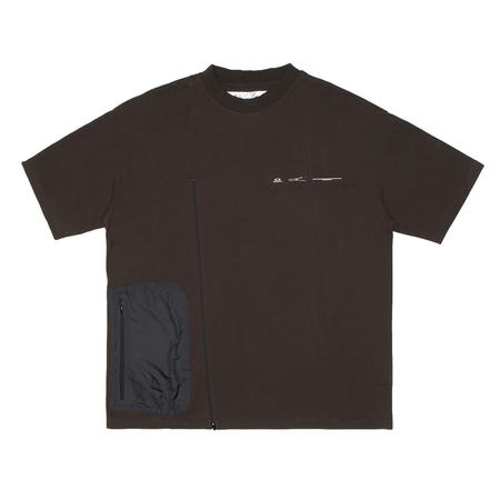OAKLEY BY SAMUEL ROSS Zip Paneled t-shirt
