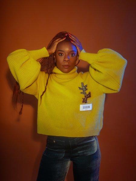 Greta Boldini Abelia Sweater -  Lime
