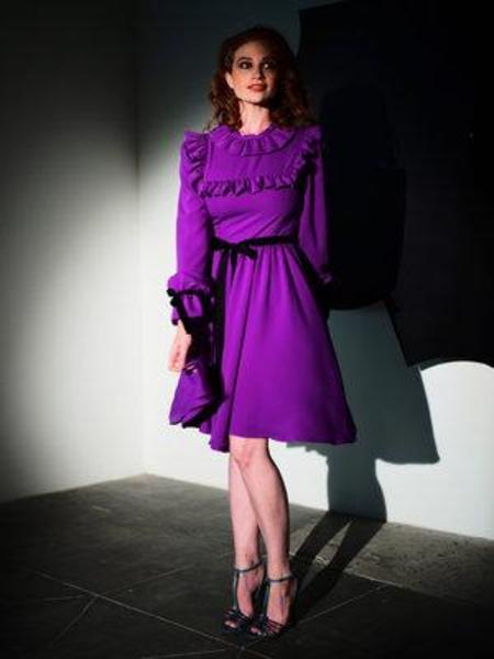 Vivetta Caen Dress - Purple