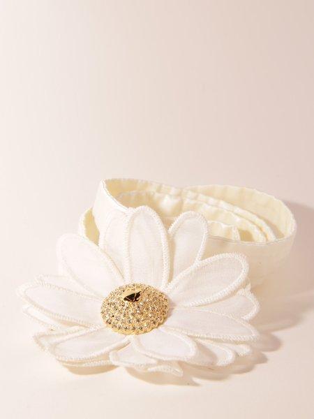 Sretsis Daisy Choker - white