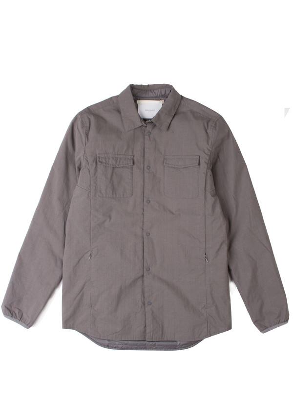 Men's Norse Projects Jens Ripstop Nylon Pewter