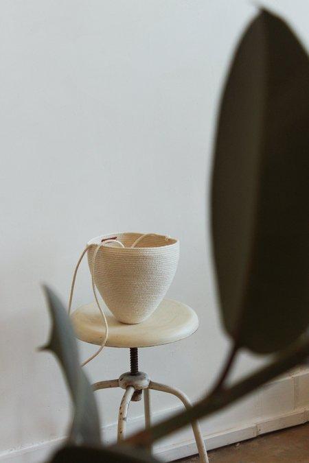 Catzorange bucket - white