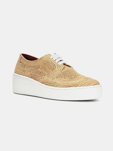 Robert Clergerie taille sneaker - NATURAL