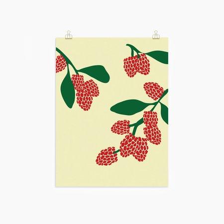 POKETO Raspberry Print