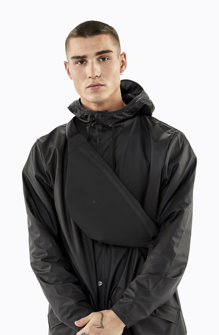 Rains Bum Bag - Black