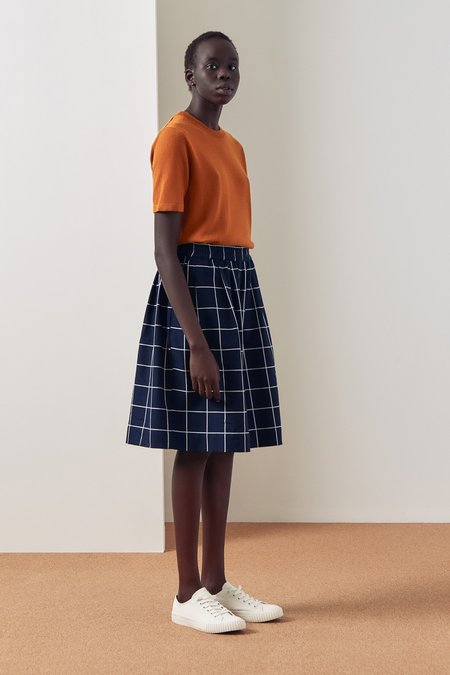 Kowtow Dusk Shorts - Check