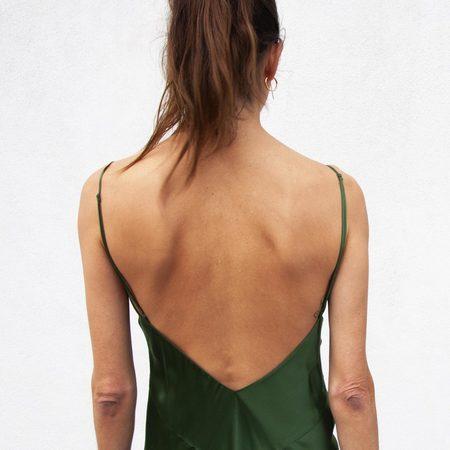 Olivia Von Halle Issa Slip Dress - Ivy