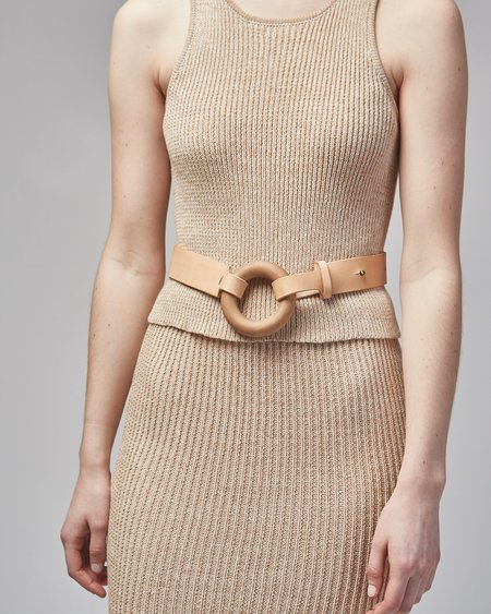Actually Existing Circle Belt - Nude