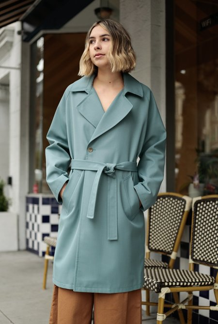 A.P.C. Bakerstreet Coat - Green