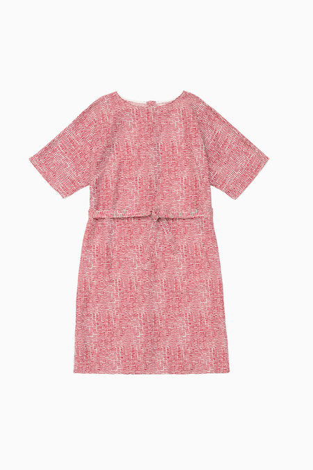 Samuji Neisa Dress - Ecru/Red