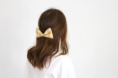 Lizzie Fortunato Bow - Pale Tartan
