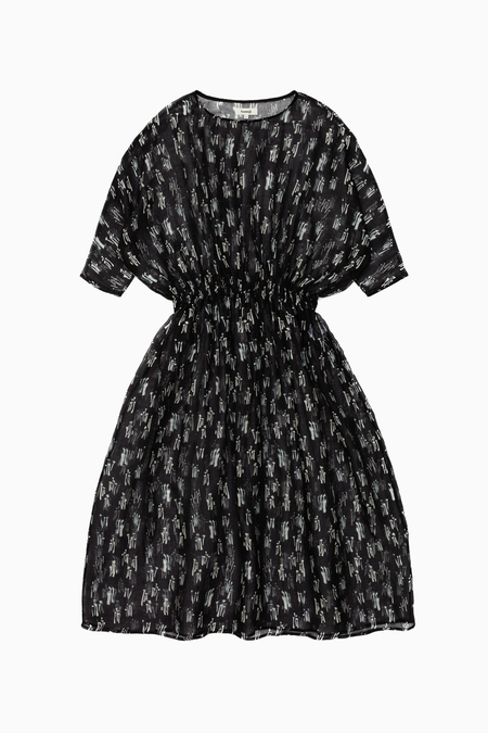 Samuji Samia Dress - Navy/White