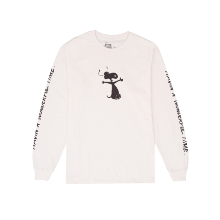 Joe Garvey Corey Presha L/S T-shirt - Natural