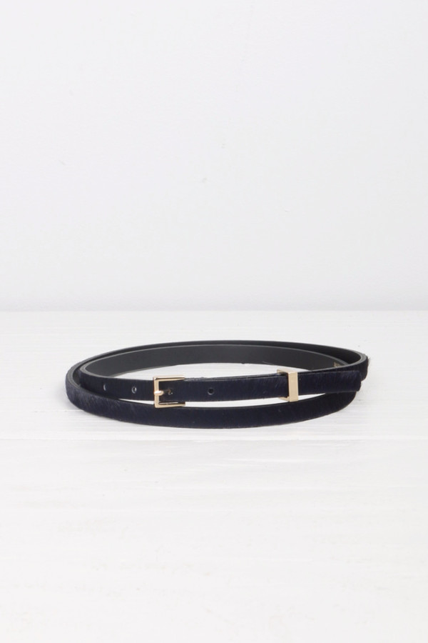 Maison Kitsune Calf Hair Belt
