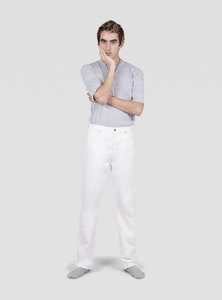 I AND ME Slim Leg Jeans - White