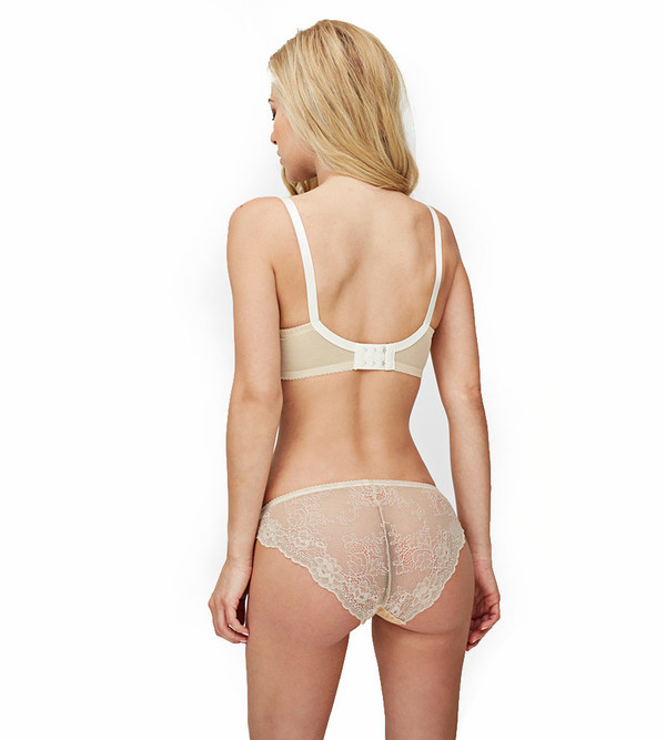 Fortnight Champagne/Ivory Ivy Classic Wire Bra