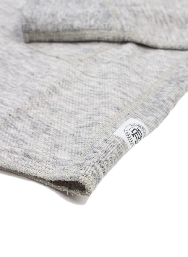 Men's Reigning Champ Knit Mesh Jersey Pullover Hoodie Concrete