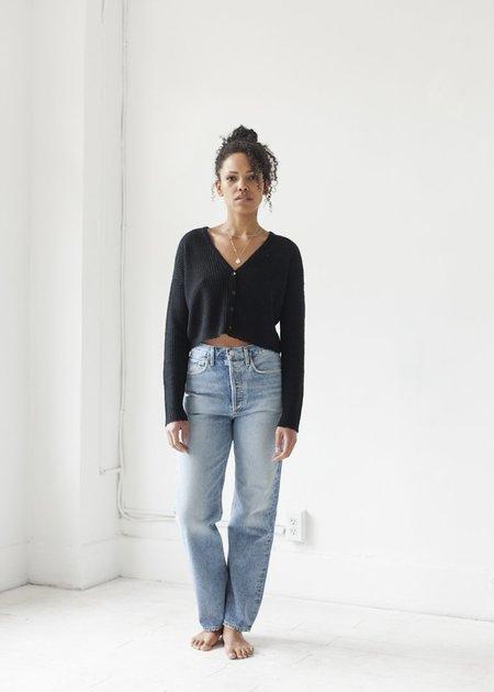 Line Knitwear Ambrosia - Caviar