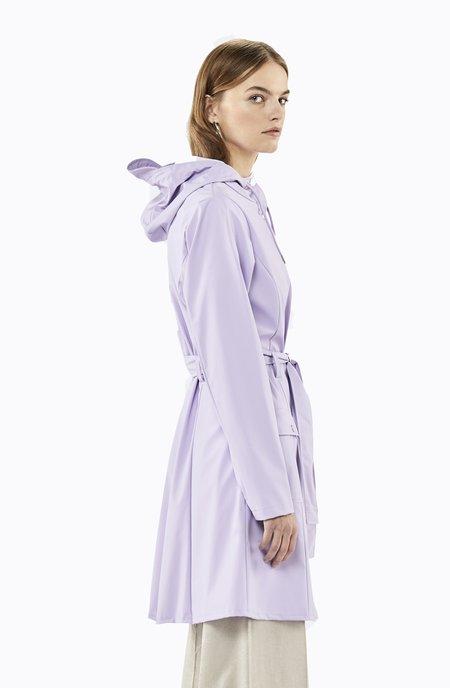 Rains Curve Jacket - Lavender