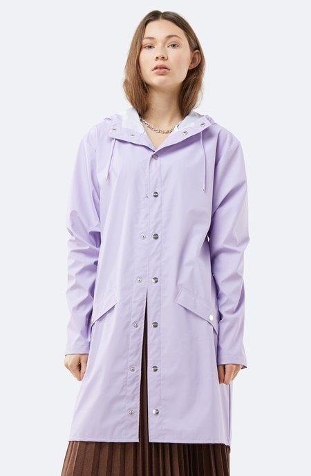 Unisex Rains Long jacket - Lavender