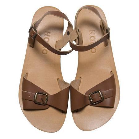 Noro Glaritis Greek Sandal - Cognac Brown