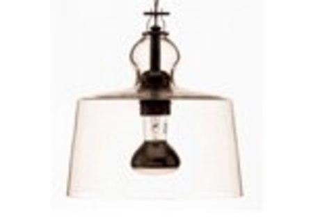 Michele de Lucchi ACQUATINTA SUSPENDED LAMP - TRANSPARENT MURANO GLASS