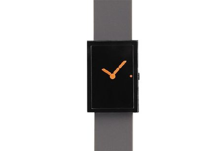 &design LED WATCH - BLACK