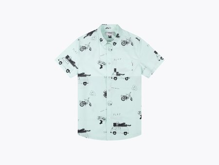 wemoto play shirt - MINT