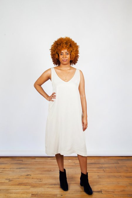 Amanda Moss Joni Dress - Bone