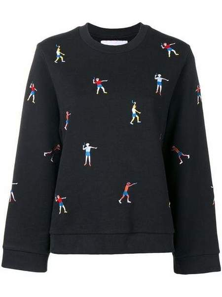 Henrik Vibskov Back Sweatshirt - Dark Bounce