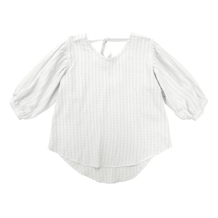 KIDS nico nico Theodora Blouse - Off-White