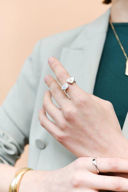 Seaworthy Poppy Ring with Stone