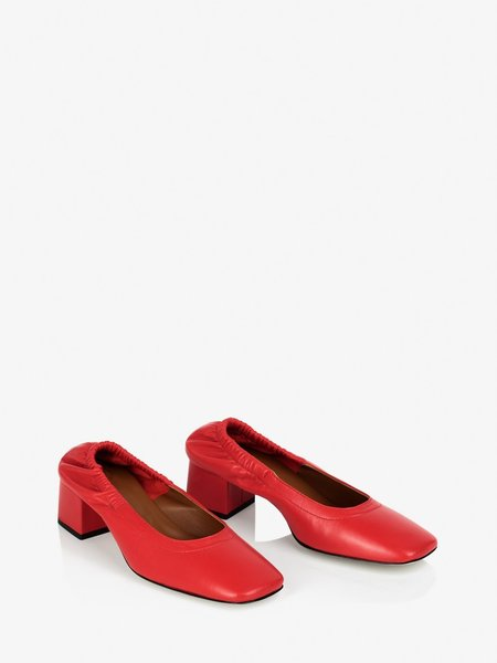 ATP ATELIER Fiore Pumps - Tomato Red