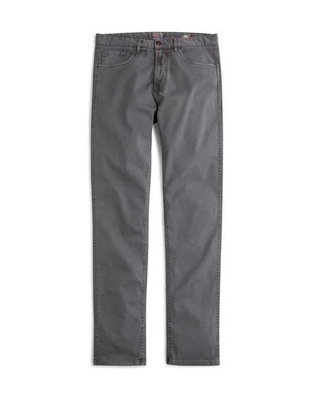 Faherty Brand Comfort Twill Jean - Rugged Grey