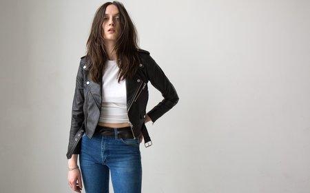 Deadwood Debbie Recycled Leather Jacket