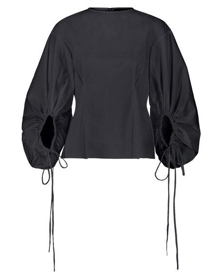 Pause. Orchard Balloon Sleeve Top - Black