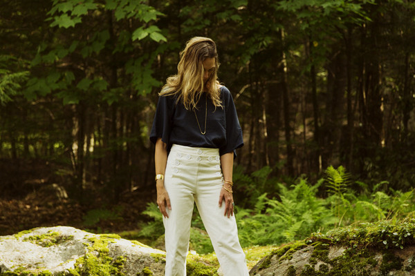 Nahanni Arntzen  Pants -white denim
