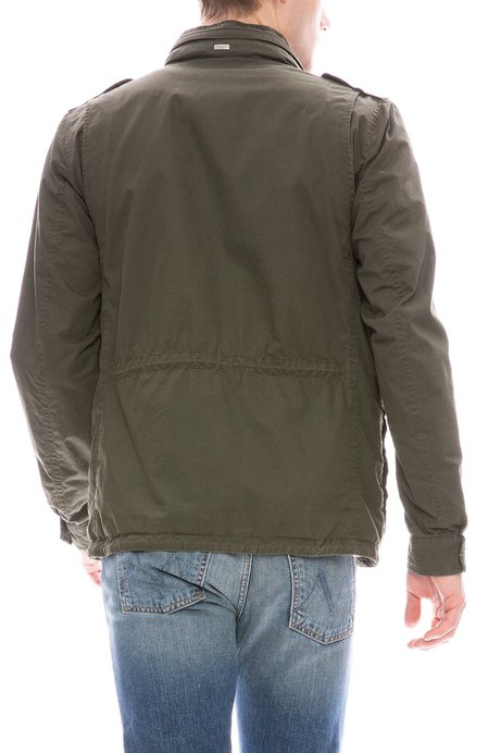 Herno Washed Cotton Field Jacket