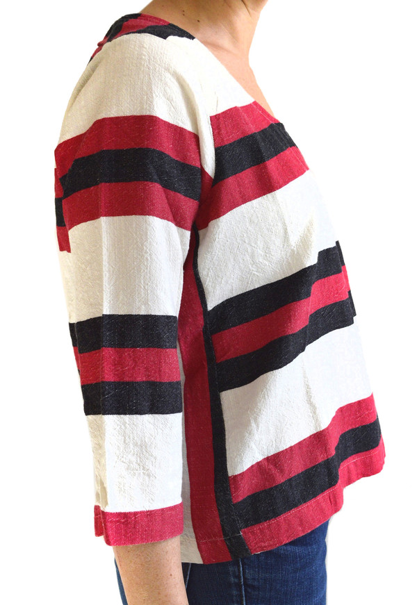 Ace & Jig Turnaround Pullover in Tribe