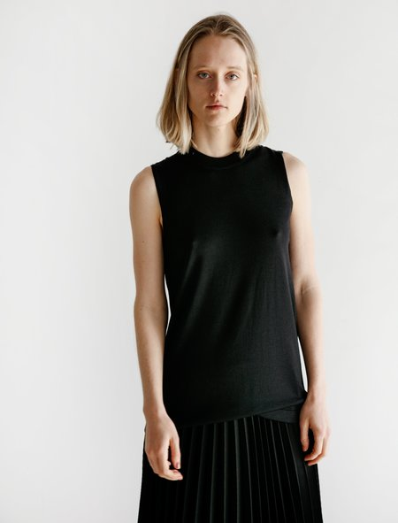 Sunspel Tunic Top - Black