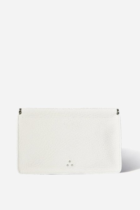 Jerome Dreyfuss Clic Clac Large Clutch - Blanc