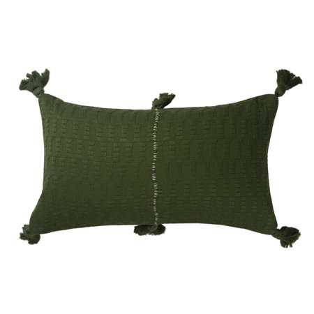 Archive New York Antigua Pillow - Olive Solid