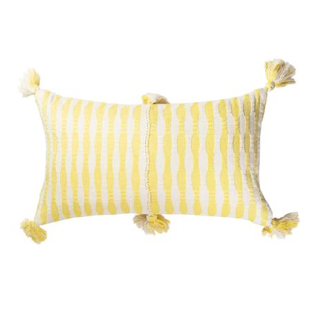 Archive New York Antigua Pillow - Butter Stripe