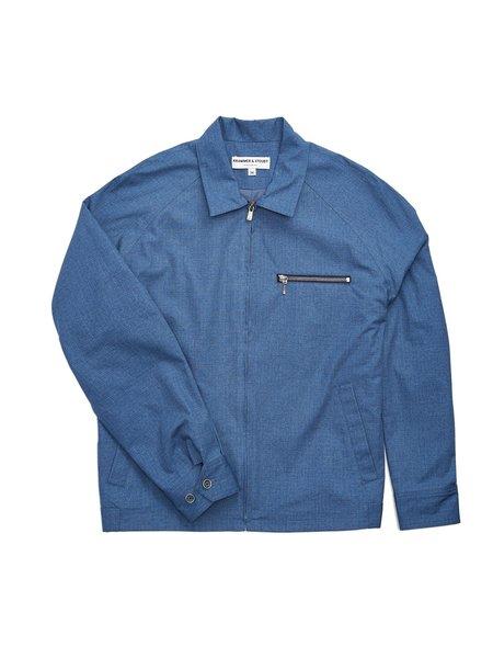 Krammer & Stoudt Raglan Ripstop Jacket - Blue