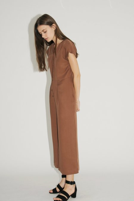 Diarte Maura Jumpsuit - Chocolate