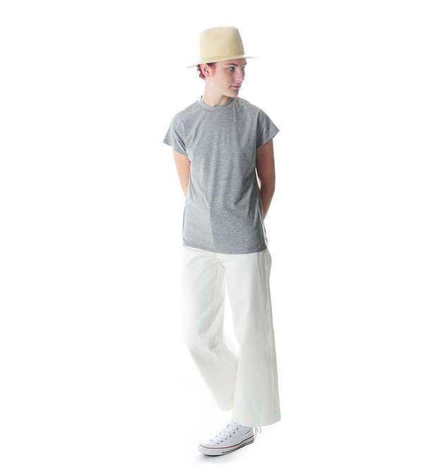 Won Hundred Grey Melange Proof T-Shirt
